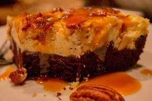 Salted Caramel Apple Cheesecake Brownie von Doreen von Goodlife.in-mind